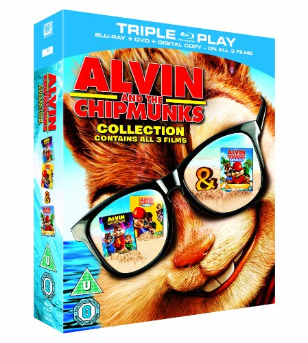 Alvin & The Chipmunks Collection - Triple Play Blu-ray