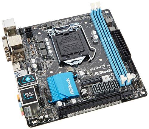 ASRock製 Mini-ITXマザーボード H97M-ITX/ac LGA1150