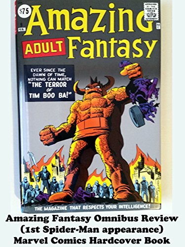 Amazing Fantasy Omnibus Review (1st Spider-Man appearance) Marvel Comics Hardcover Book