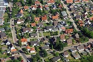 MF Matthias Friedel - Luftbildfotografie Luftbild von 1. Sandereiweg in Buxtehude (Stade), aufgenommen am 17.07.06 um 16:45 Uhr, Bildnummer: 4016-40, Auflösung: 4288x2848px = 12MP - Fotoabzug 20x30cm