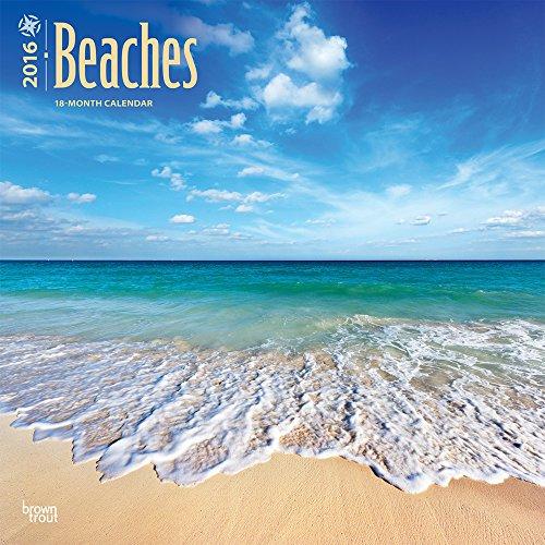 Beaches 2016 Wall Calendar