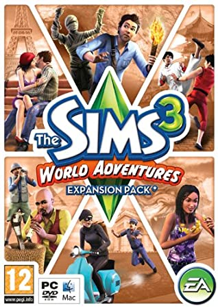 The Sims 3: World Adventures - Expansion Pack (PC/Mac DVD) [Edizione: Regno Unito]