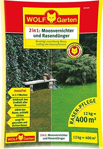 wolf garten lq400 diserbante e fertilizzante per prato 12 kg. Black Bedroom Furniture Sets. Home Design Ideas