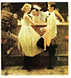 Norman Rockwell After The Prom 1957 Art Print - 8 in x 9 in - Unmatted, Unframed