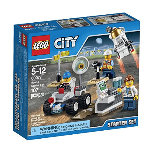 [LEGO City Space Port 60077 Space Starter Building Kit] (Hats 4 U)