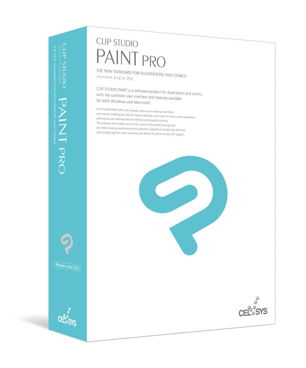 Celsys clip studio paint pro paint draw software manga for Paint pros