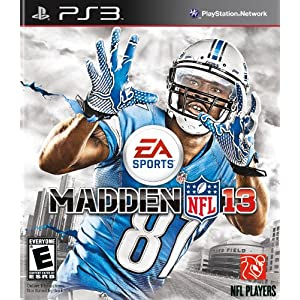 Madden NFL 13 PS3 Video Game