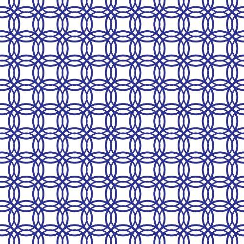 Royal Blue Geometric Pattern Craft Vinyl 3 Sheets 12X12 For Vinyl Cutters