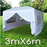 Quictent 20x10 EZ Pop Up Party Wedding Tent Canopy Gazebo White