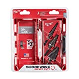 Milwaukee 48-89-9257 Shockwave Impact Duty Step Bit Electrician Set (#1, 4, 9)