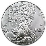 2012 - 1 oz American Silver Eagle .999 Fine Silver Dollar Uncirculated US Mint
