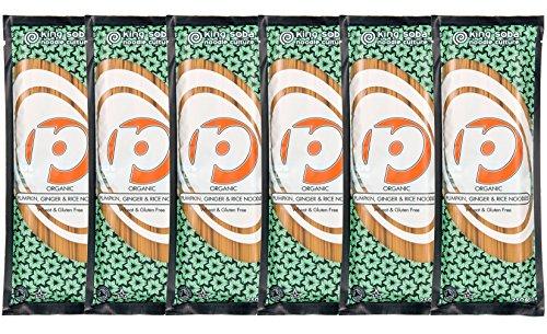 King-Soba-6-PACK-Gluten-Free-Organic-Pumpkin-Brown-Rice-Noodles-250g-3-Servings-Per-Pack