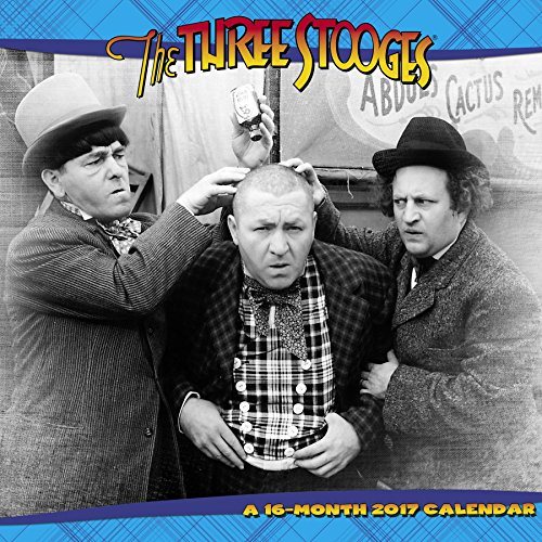 The Three Stooges Wall Calendar (2017)