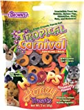 FMBrowns Hoops and Honey Strawberry Flavor Pet Treats, 3-Ounce