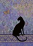 Heye - Heye-29534 - Puzzle Classique - Cats Silhouette - 1000 Pièces