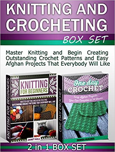 Knitting and Crocheting Box Set