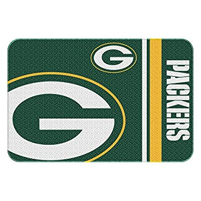 Northwest NOR-1NFL336000017WMT 30 x 20 Green Bay Packers NFL Tufted Rug