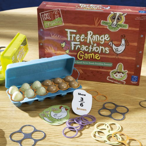 Educational Insights Free-Range Fractions Game