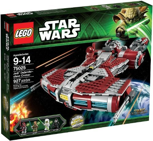LEGO 75025 JEDI DEFENDER CLASS CRUISER STAR WARS