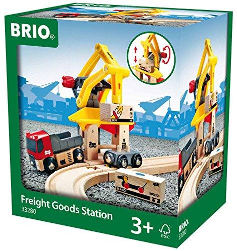 Schylling Brio Freight Goods Station