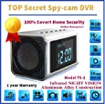 TOP Secret Spy Camera Mini Clock Radi...