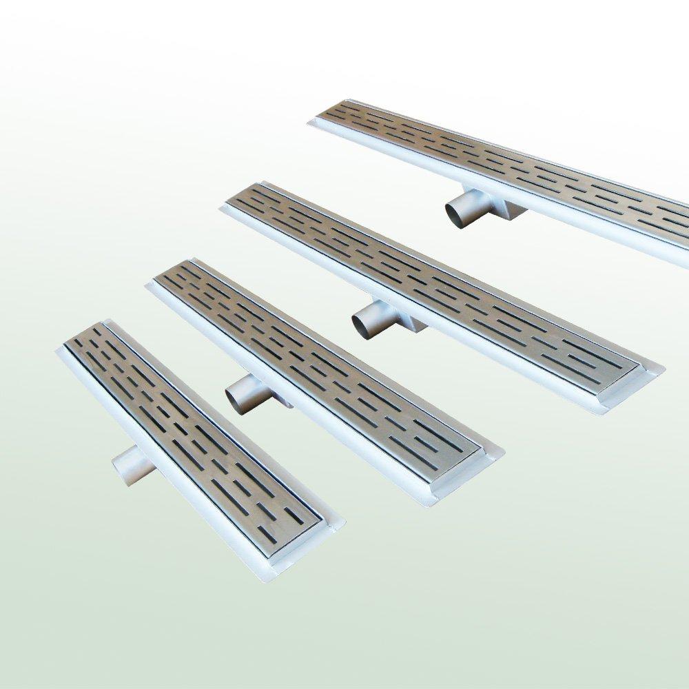 Duschrinne Bodenablaufrinne 1000 mm Typ D extra flach + Siphon  BaumarktÜberprüfung und weitere Informationen