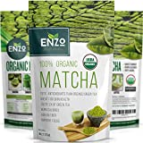 MATCHA Green Tea Powder - Fat Burner - 100% USDA Organic Certified - 137x ANTIOXIDANTS Than Brewed Green Tea - Sugar Free - Great for Green Tea Latte, Smoothie, Ice Cream and Baking - Coffee Substitute (4oz)