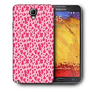Snoogg Pink Pattern Printed Protective Phone Back Case Cover For Samsung Galaxy NOTE 3 NEO / Note III