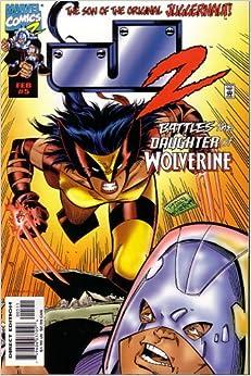 J2 (The Son of the Original Juggernaut] Vol 1, #5 Comic Book Paperback