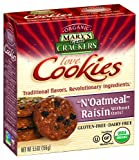Mary's Gone Crackers love Cookies, N'Oatmeal Raisin, 5.5-Ounce Boxes (Pack of 6)