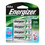 Energizer NH15BP4 New Recharge Batter...