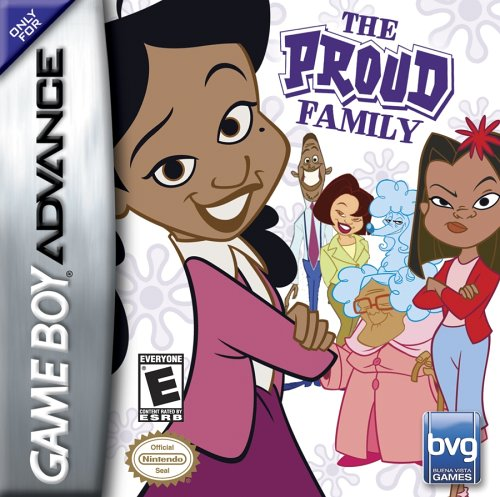 Proud Family - Game Boy Advance front-943487