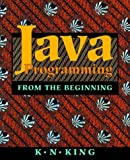 img - for Java Programming: From the Beginning book / textbook / text book