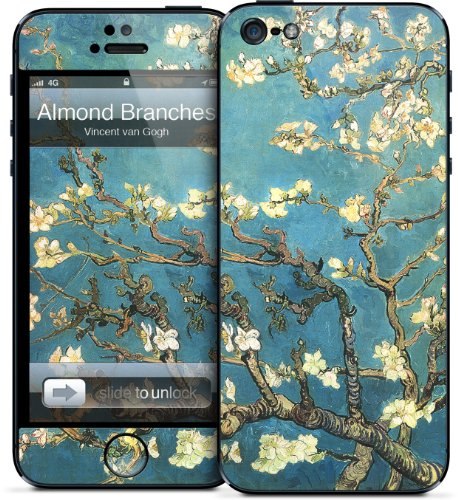 GelaSkins Protective Skin for iPhone 5 - Almond Branches in Bloom by Vincent van Gogh Black Friday & Cyber Monday 2014
