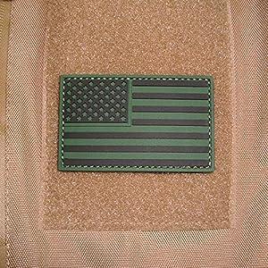 3d'Rubber Patch-US Army Drapeau États-Unis United States insigne Badges Airsoft Navy Seals Amérique Tactical Combat utilisation Ranger Uniform Camo 5x 8cm # 17052