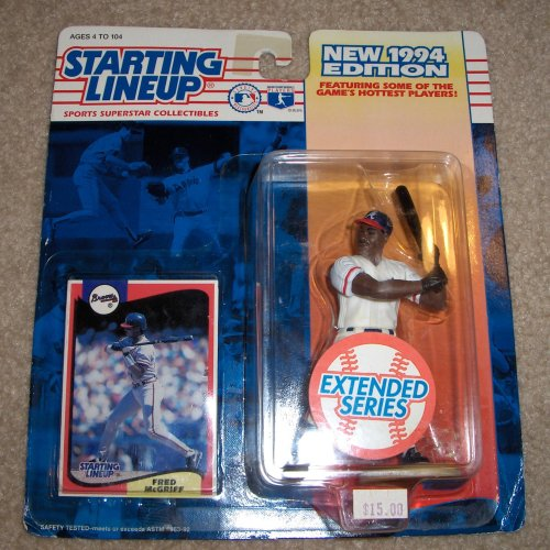 1994 Fred McGriff MLB Extended Series Starting Lineup [Toy]
