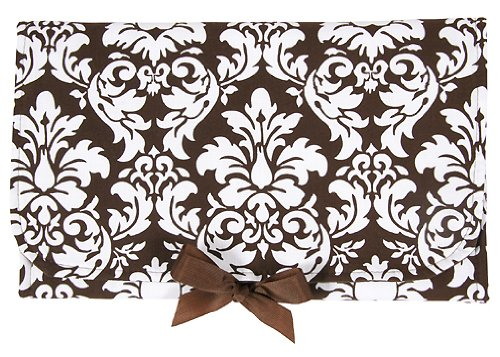 Generation Baby Smart Sack Diaper & Wipe Holder/Changing Pad (chocolate damask)