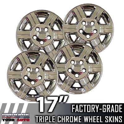 "2007-2009 Dodge Durango 17"" Chrome Wheel Skins"