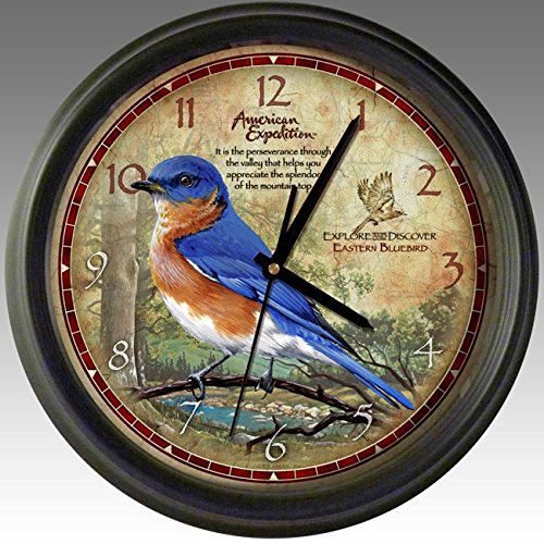 American Expedition WCLK-133 WALL CLOCK - BLUEBIRD