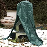 Relaxdays Outdoor Chimney Protective Cover Fire Place 235 X 80 X 50 Cm