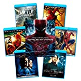 【Amazon.co.jp限定】 アメイジング・スパイダーマン ブルーレイおまとめパック(7作品)(完全数量限定生産) [Blu-ray]