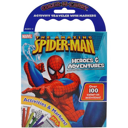 Color N Carry - The Amazing Spider-man Heroes & Adventures - 1