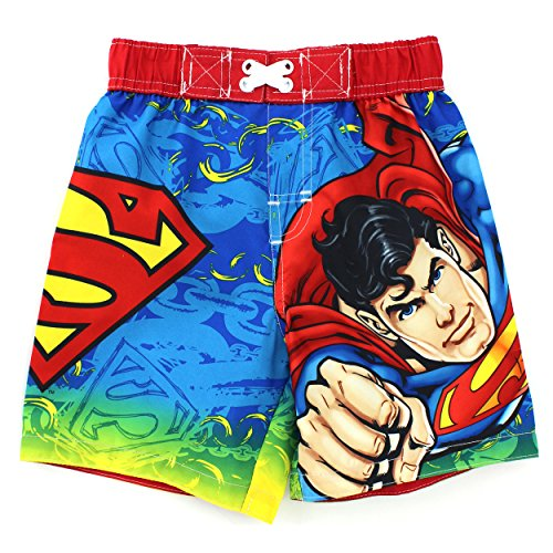 Superman Toddler Swim Trunks