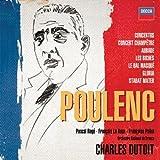 echange, troc  - Poulenc : Concertos, Oeuvres pour Orchestre et Chorales (Coffret 5CD)