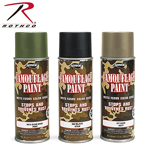 Rothco Spray Paint, 16 oz (Net 12 oz), Olive Drab (Olive Drab Spray Paint compare prices)