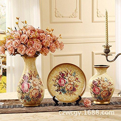 trois-pieces-de-vases-en-ceramique-continental-cadeaux-creatifs-ornements-salon-ornements-artisanaux