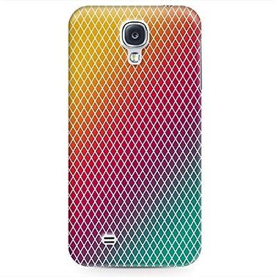 Phone Case For Samsung Galaxy S4 - Rainbow Mini Diamonds Hard Hardshell