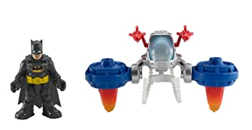 Fisher-Price - Imaginext - DC Super Friends - Batman & Space Pack - Véhicule + Figurine