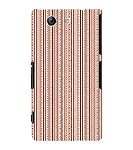 Bangles Thread Design 3D Hard Polycarbonate Designer Back Case Cover for Sony Xperia Z4 Mini :: Sony Xperia Z4 Compact