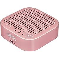 Unitek Y-BL10002-RG Aluminum 5W-Driver Stereo Wireless Bluetooth Speaker (Rose Gold)